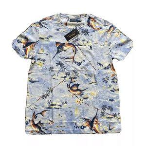 Polo Ralph Lauren Marlin Fishing Hawaiian Shirt